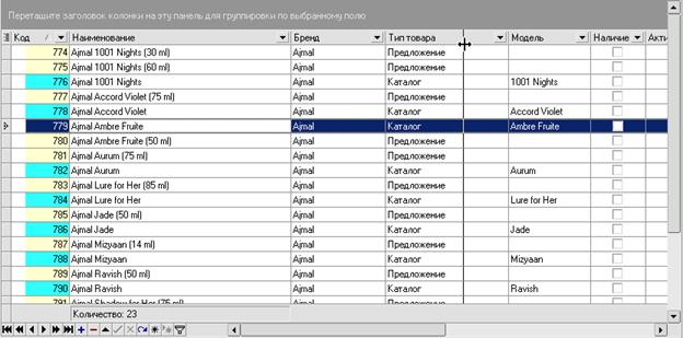 iNETsHOP: внешний вид таблицы - ширина колонок